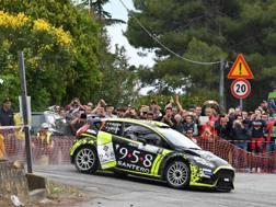 Una fase di gara alla Targa Florio