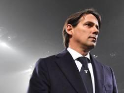 Simone Inzaghi, 41 anni, allenatore della Lazio. Ansa