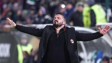 Rino Gattuso, 40 anni, tecnico del Milan. Afp