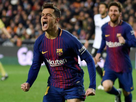 Philippe Coutinho, 25 anni, Afp