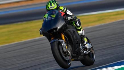 Cal Crutchlow è stato il più veloce a Buriram. Twitter @MotoGP