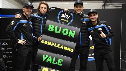 I ragazzi dello Sky Racing team VR46. Milagro