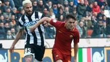 Cengiz Under, 20 anni, prima stagione alla Roma. Ansa