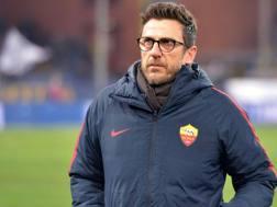Eusebio Di Francesco, 48 anni, allenatore della Roma. Getty