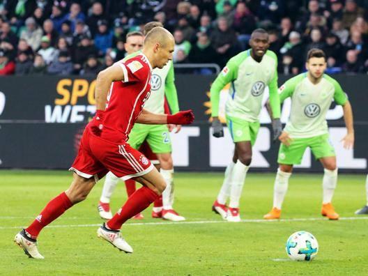 Arjen Robben, 34 anni, Epa