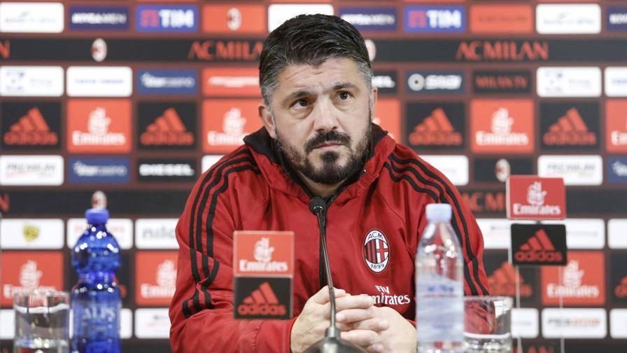 """Gattuso: """"Occhio alla Samp Cutrone? Basta paragoni Io via? Voglio restare qui"""""""