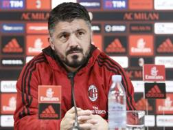 Gennaro Gattuso, 40 anni. Laprese