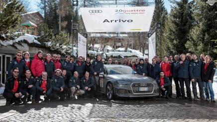 I protagonisti della 20Quattro ore delle Alpi by Audi