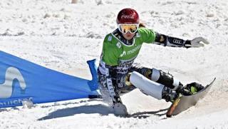 Ester Ledecka, dal superG al windsurf