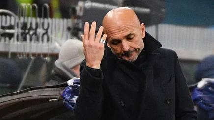 Luciano Spalletti a Genova. Ansa