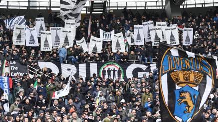 I tifosi della Juve allo stadio Grande Torino. Ansa