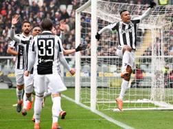 Alex Sandro, 27 anni, ha deciso il derby di Torino. Getty