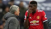 José Mourinho, 55 anni, e Paul Pogba, 24. Getty