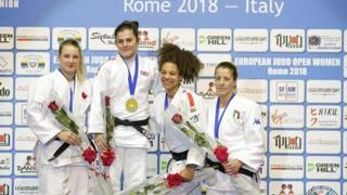 Judo, le stelle dell'European Open Women di Roma