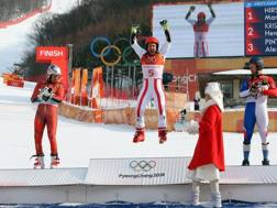 La gioia di Hirscher. Getty