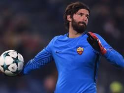 Alisson Ramsés Becker, 25 anni, è alla Roma dall'estate 2016. Afp