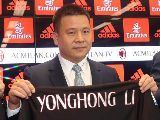 Yonghong Li, proprietario del Milan. Ansa