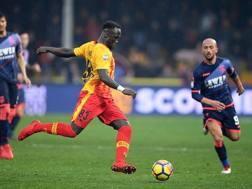 Bacary Sagna, 35 anni, difensore del Benevento. Getty