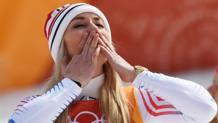 Lindsey Vonn, 33 anni, 3 medaglie olimpiche in carriera. Ap