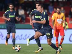 Ivan Perisic durante Benevento-Inter del 1° ottobre. Lapresse