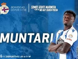 Sulley Muntari sui social del Deportivo.