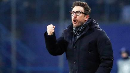 Eusebio Di Francesco, tecnico della Roma. Epa