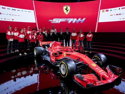 Ecco la nuova Ferrari F1 SF71H. Ansa