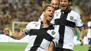 Emanuele Calaiò, 99 reti in carriera in Serie B. Getty Images