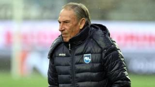Zdeněk Zeman (70), tecnico del Pescara. LAPRESSE