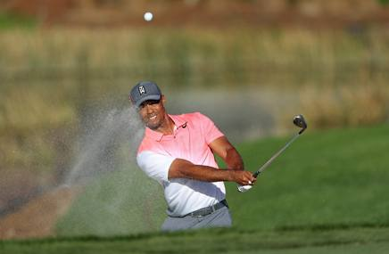 Tiger Woods, 42 anni AFP