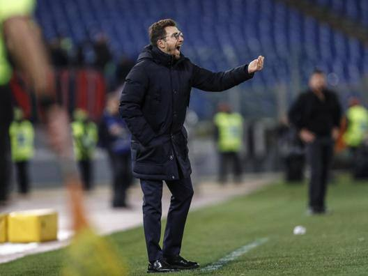 Eusebio Di Francesco, 48 anni, allenatore della Roma. Ansa