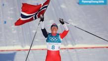 Marit Bjoergen, 37 anni. Getty Images
