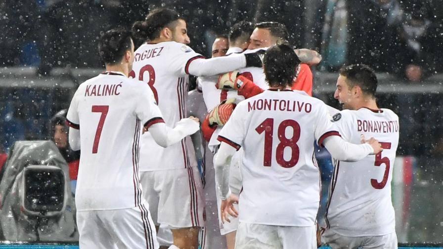 """Milan di ferro, sei in finale! La Lazio si arrende ai rigori Decide il """"tifoso"""" Romagnoli"""
