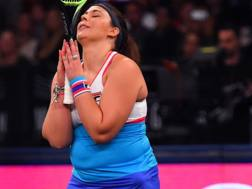 Marion Bartoli ai Tie Break Tens di New York. AFP