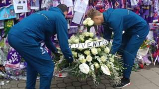 La Juventus Primavera omaggia la memoria di Davide Astori