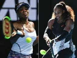 Venus e Serena Williams, 37 e 36 anni AFP
