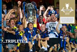 L'Inter che ha vinto la Champions League
