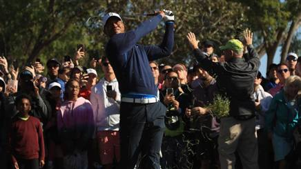 Tiger Woods. Afp