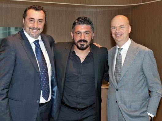 Mirabelli conferma Gattuso Così nasce il nuovo Milan