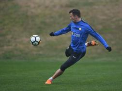 Ivan Perisic in allenamento. Getty