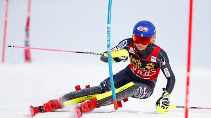 Mikaela Shiffrin, 23 anni (Getty)