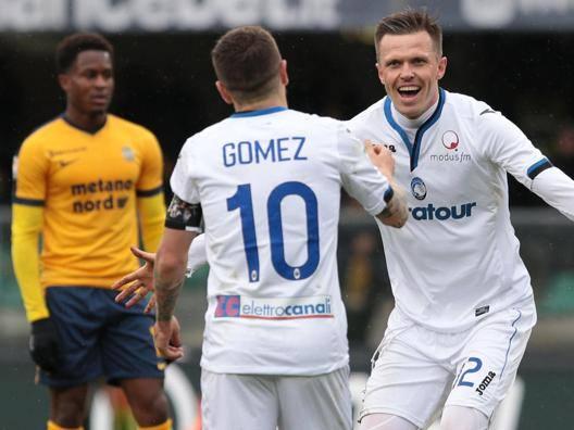 Ilicic+Gomez: Atalanta show Verona, adesso si fa dura