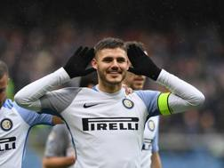 Mauro Icardi, 25 anni, capitano dell'Inter. 22 gol in stagione. Getty