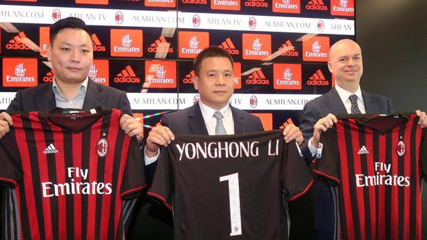 "Milan, fallisce la società ""Jie Ande"" di mister Li"