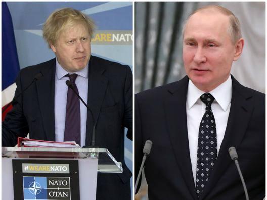 """Missili inglesi sul Mondiale """"Putin come Hitler nel 1936"""""""