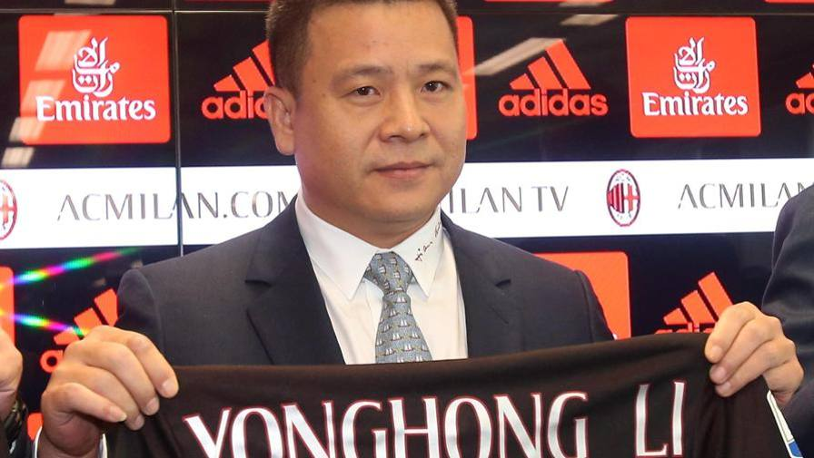 Milan, è pressing su Mr Li Subito 10 mln: Elliott pronto
