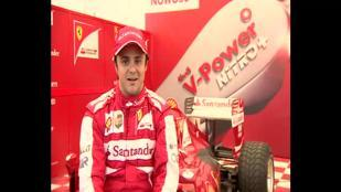 Massa, show Ferrari in Polonia