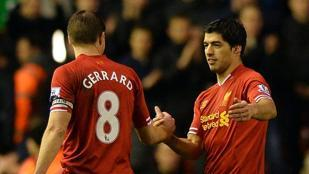 Suarez show: Liverpool-Everton 4-0