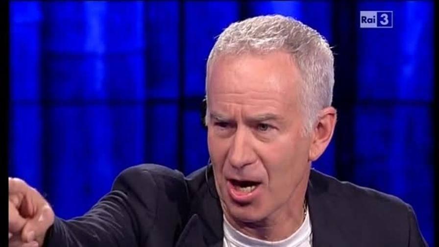 McEnroe, che show da Fazio