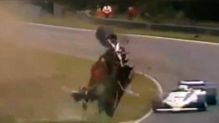 Gilles villeneuve trentatr anni fa l 39 incidente mortale for Incidente gilles villeneuve